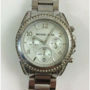 """Michael Kors Blair Chronograph Watch  16"""""""
